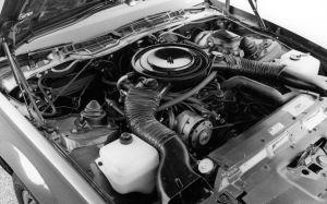 Motor V8 do Camaro Z28 - 1983