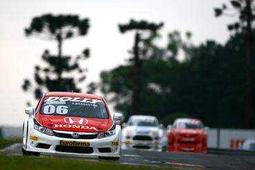 Honda Civic de André Bragantini, vencedor da etapa final da Copa Petrobras. - Bruno Terena/Vicar