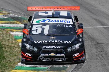 Átila Abreu terminou como o mais rápido nos tempos combinados desta sexta-feira. Fernanda Freixosa/Vicar