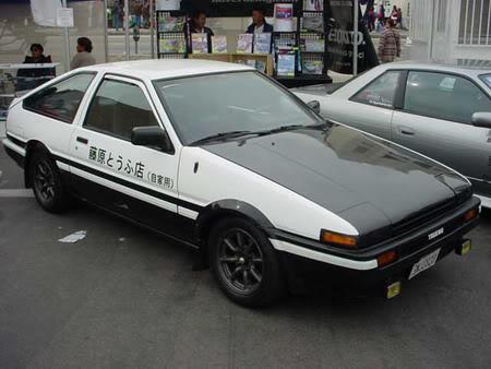 Toyota Corolla Trueno ae86 - 1986