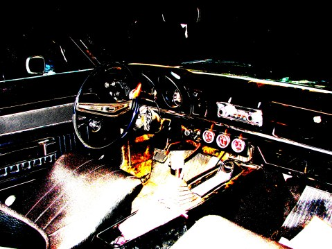 Interior do Ford Maverick