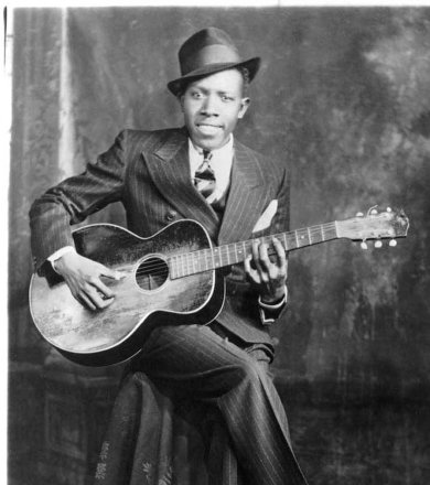 Foto clássica do Robert Johnson