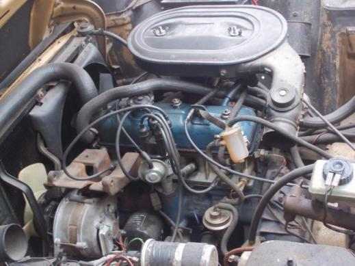 Motor Renault que equipava também o Corcel