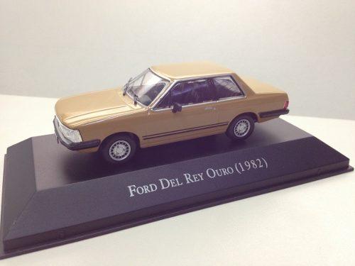 Miniatura do Ford Del Rey Série Ouro, escala 1:43 - Coleção Carros Inesquecíveis do Brasil