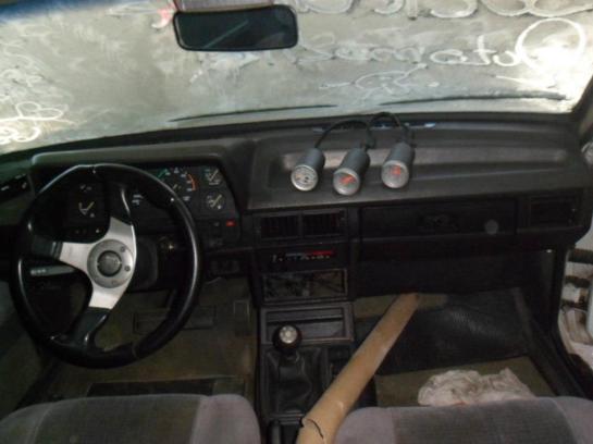 Amperímetro, Voltímetro e  Medidor de Pressão do turbo