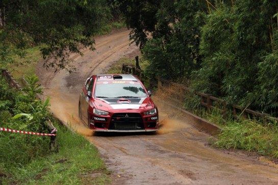 Bertholdo e Dalmut enfrentaram muito barro no Rally das Montanhas de Canela - Edson Castro/Divulgação