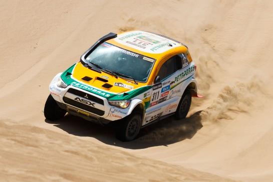 Equipe Mitsubishi Petrobras enfrenta um novo desafio em abril - Vinicius Branca / Mitsubishi
