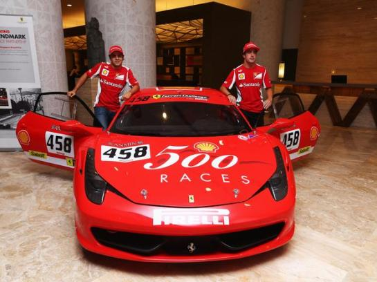 alonsomassaferrari458getty
