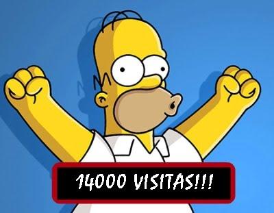 14000 visitas