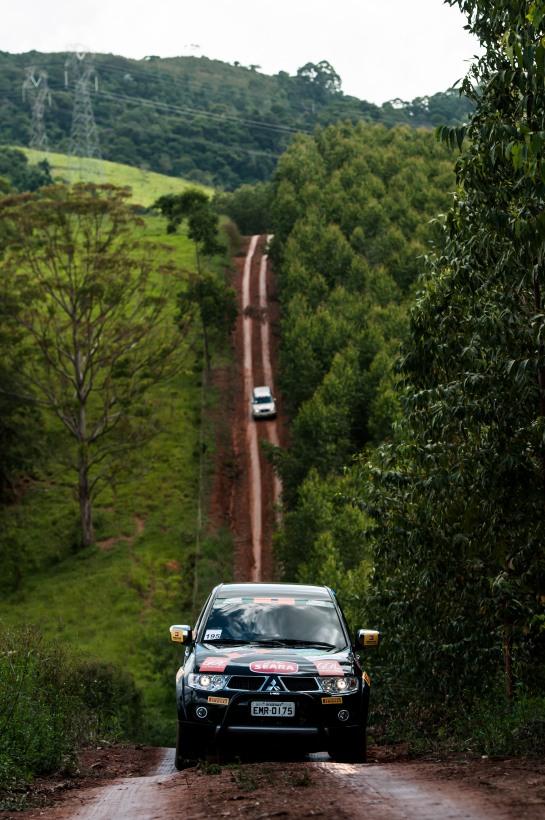 Belas paisagens durante o percurso -  Ricardo Leizer / Mitsubishi