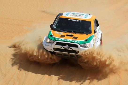 Guiga e Youssef subiram para a 2ª colocação - Jorge Cunha / Aifa / Mitsubishi
