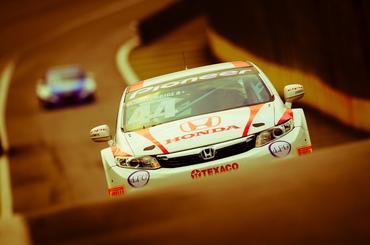 Honda Civic está na frente da Copa Petrobras entre montadoras e pilotos. - Duda Bairros/Vicar