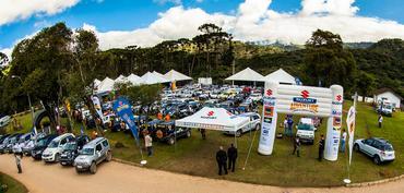Mais de 300 pessoas participaram da confraternização do Suzuki Adventure - Murilo Mattos/ Suzuki Veículos