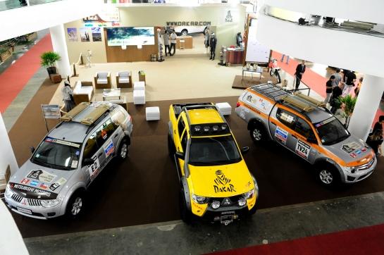 Carro oficial do Rally Dakar pode ser visto na Adventure Fair - David Santos Jr. / Mitsubishi