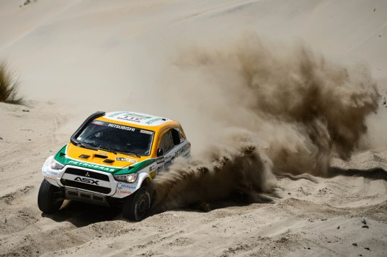 Equipe Mitsubishi Petrobras estará presente no Rally Dakar 2014 - Marcelo Maragni / Mitsubishi