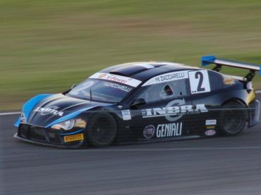 Mauri Zuccarelli e o carro da Hot Car para o Campeonato Brasileiro de Turismo. - Carsten Horst/Hyset