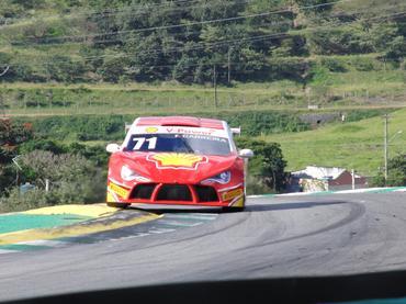 Fábio Carreira deu 80 voltas com o carro nos 4.314 metros de Interlagos. - Carsten Horst/Hyset