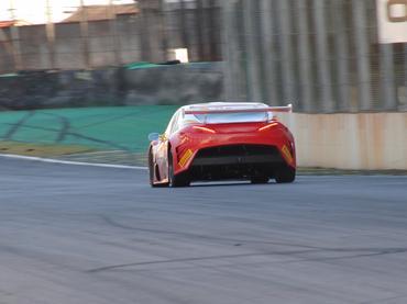 Traseira do novo carro do Brasileiro de Turismo, categoria formadora de pilotos. - Carsten Horst/Hyset