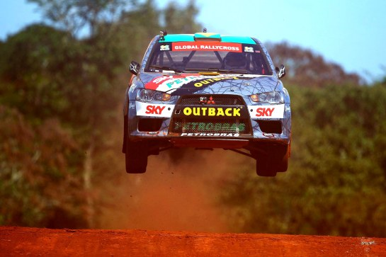 X Team Mitsubishi na etapa de Foz do Iguaçu dos X Games - Carsten Horst / Mitsubishi