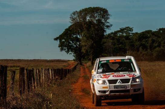 Prova em Goiânia teve belas paisagens - Ricardo Leizer/Mitsubishi