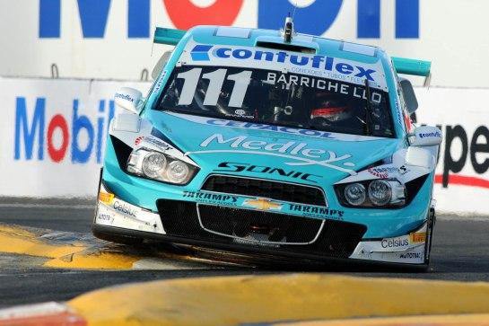 Carro do experiente Rubens Barrichello, que fez seu primeiro pódio na Stock Car. - Fernanda Freixosa/Vicar