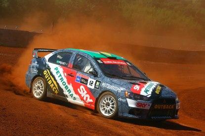 Lancer EVO XTR do X Team Mitsubishi - Carsten Horst / Mitsubishi