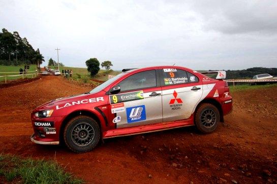 Ulysses conquistou sua 2ª vitória no Campeonato Brasileiro de Rali de Velocidade - Divulgação