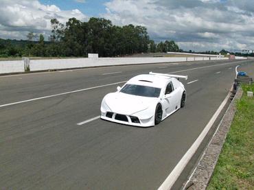 Carro do Brasileiro de Turismo foi testado em Interlagos e no Velopark.- Divulgação