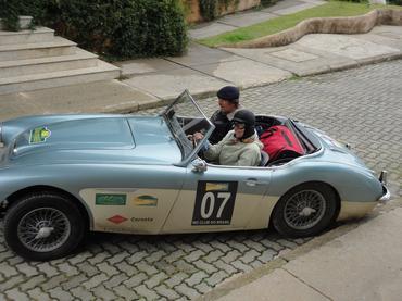 Austin Healey 1960 da piloto Rose Salmon - Vera Lambiasi