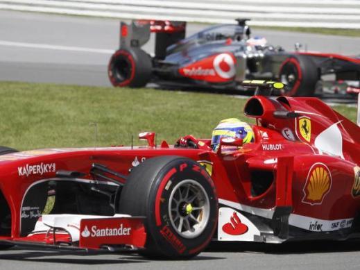 Felipe Massa fez uma corrida de recuperação e chegou em 8º