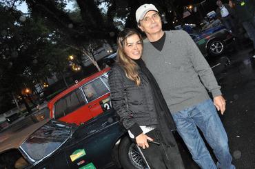 .. e atéo tricampeão de F1 Nelson Piquet e esposa - Foto: Vera Lambiasi
