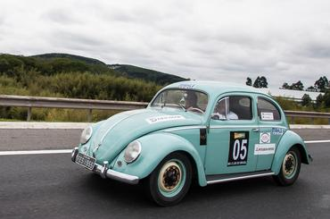 O Rallye teve participação de Fusquinha 1955 - Foto: Vera Lambiasi
