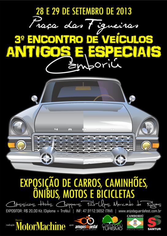 III Encontro de Veículos Antigos e Especiais.