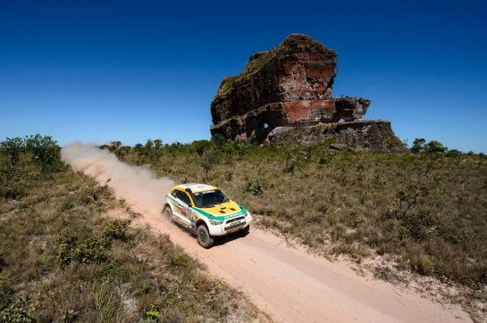 Equipe Mitsubishi Petrobras é a melhor brasileira - Marcelo Maragni/Foto Arena