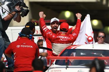 Duas vitórias deram a vice-liderança da Copa Petrobras de Marcasa Ricardo Zonta. - Bruno Terena/Vicar
