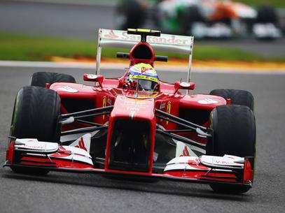 Massa terminou o dia com o quarto tempo Foto: Getty Images