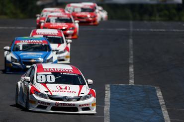 Ricardinho Maurício (90) venceu a segunda corrida deste domingo em Tarumã. - Bruno Terena/Vicar