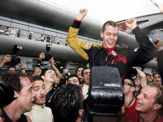 1ª vitória no GP da Itália em 2008, pela Toro Rosso