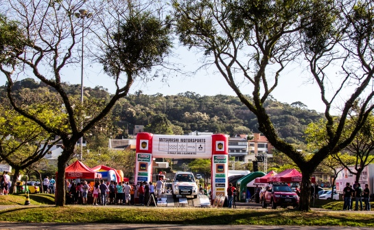 Ralis da Mitsubishi prometem movimentar Ribeirão Preto (SP) - Adriano Carrapato/Mitsubishi
