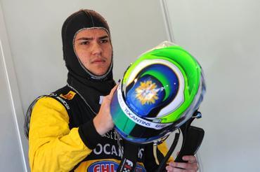 Felipe Fraga foi o mais veloz na manhã deste sábado no Autódromo de Brasília. - Fernanda Freixosa/Vicar
