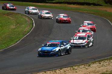 Chevrolet Cruze de Thiago Marques, que fez excelente prova na pista de Tarumã. - Bruno Terena/Vicar