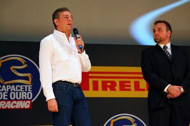 Mario Isola, italiano responsável pelos pneus na Fórmula 1... - Foto: Rafael Munhoz/Divulgação