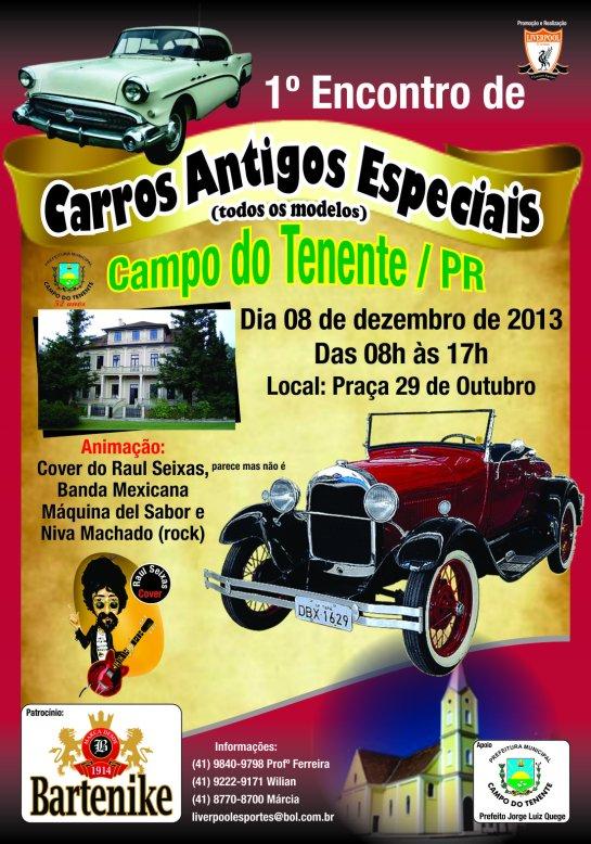 CARTAZ CAMPO TENENTE 2013