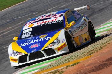 Felipe Fraga tem quatro vitórias e quer o título do Brasileiro de Turismo. - Duda Bairros/Vicar