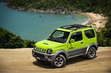Os modelos para curtir o verão em Ilhabela serão 4SUN,com teto solar panorâmico - Pedro Bicudo/ Suzuki Veículos