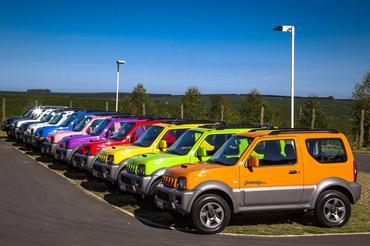 Lounge Suzuki leva diversão à Ilhabela (SP) com locação de Jimnys - Murilo Mattos/ Suzuki Veículos