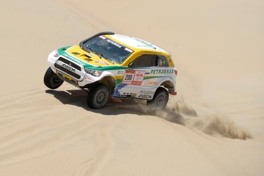 ASX Racing conquistou o Desafio Inca no Peru -  Mitsubishi