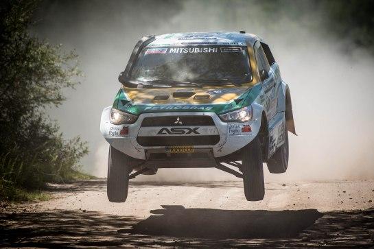 Reinaldo Varela e Gustavo Gugelmin ficaram na 10ª posição - Gustavo Epifanio / Mitsubishi