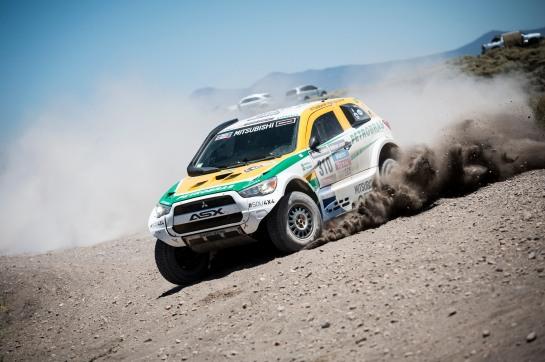 Guilherme Spinelli e Youssef Haddad terminaram na 20ª colocação - Marcelo Maragni / Mitsubishi