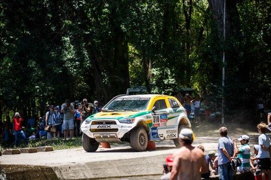Nessa terça-feira, a equipe enfrenta 301 km rumo a San Rafael - Vinicius Branca / Mitsubishi